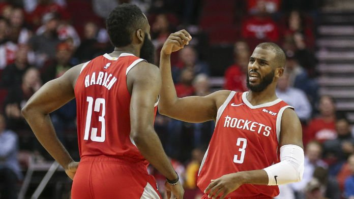 How Paul's Injury Impacts Betting on Rockets, Harden for MVP