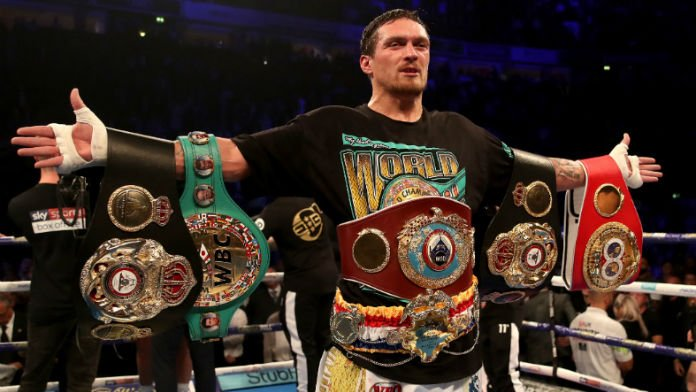 Oleksandr Usyk Headed to US for Heavyweight Debut in May
