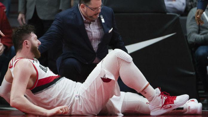 Nurkic Injury Devastating to Portland's Chances in NBA West