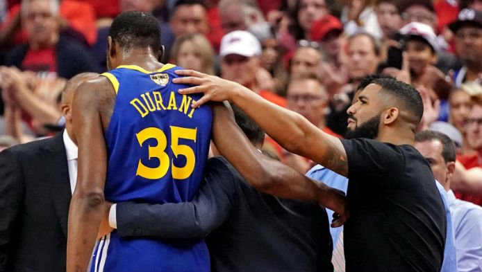 Durant Injury Shakes Up NBA Futures Market and Free Agency