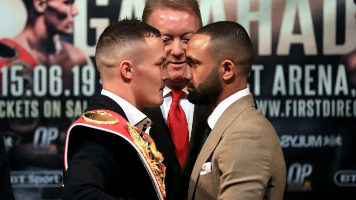 Why You Should Bet Warrington Over Kid Galahad By Decision