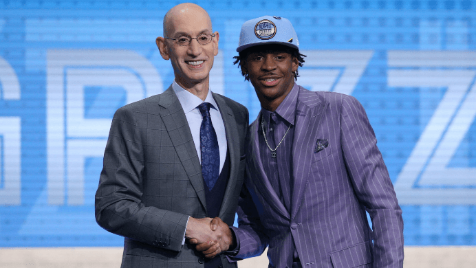 Ja Morant 2020 Rookie of the Year Odds Rise after NBA Draft