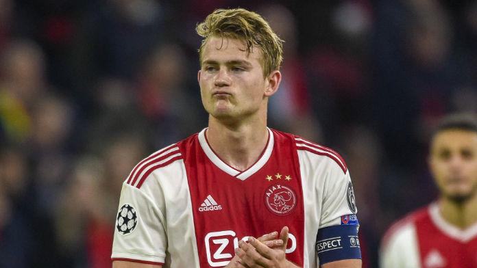 Juve Lead Matthijs De Ligt Transfer Odds Ahead of Man Utd