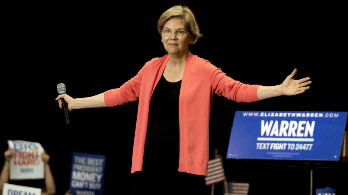 Warren Election Odds Continue to Shorten Ahead of Debates