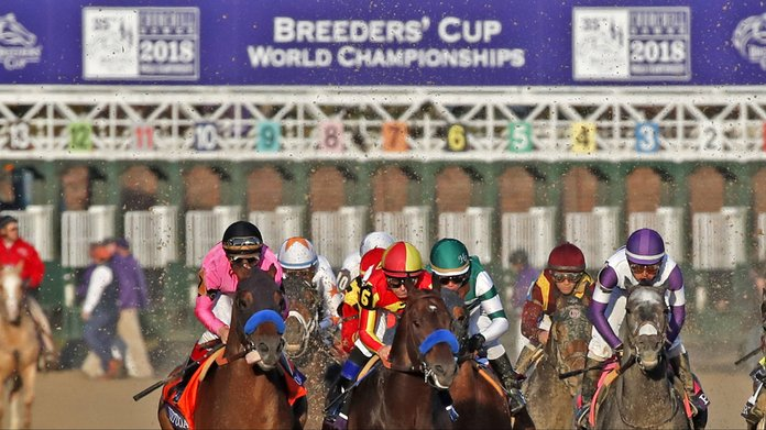 Breeders' Cup Names FanDuel & TVG Official Wagering Partners