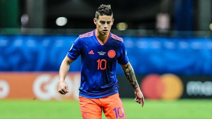 James Rodriguez Has Shock New Premier League Transfer Suitor
