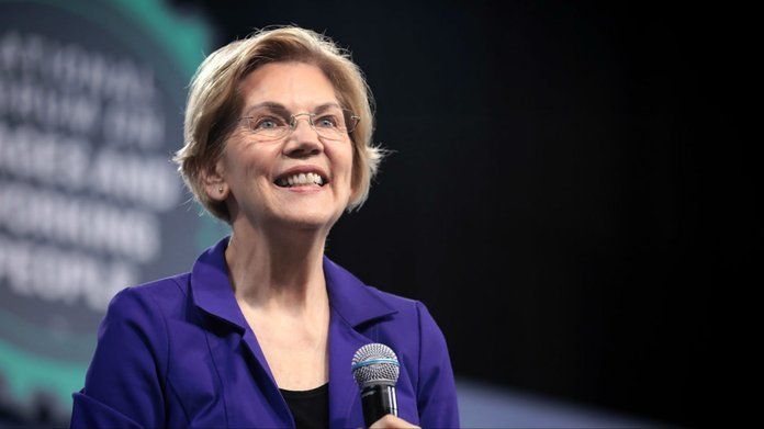 Warren Surges Into Tie With Biden As Democratic Co-Favorite
