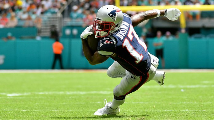 Patriots Release Antonio Brown As Their Odds Shift Slightly