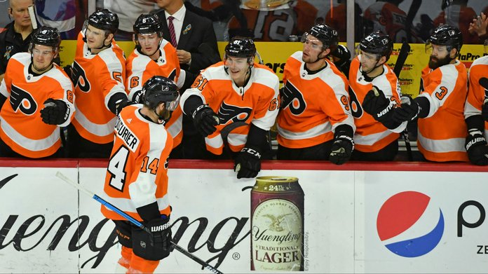 Flyers Home Opener Christens New Lounges Where Fans Can Bet